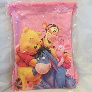 Other - 🎁Winnie the Pooh Cinch Backpack